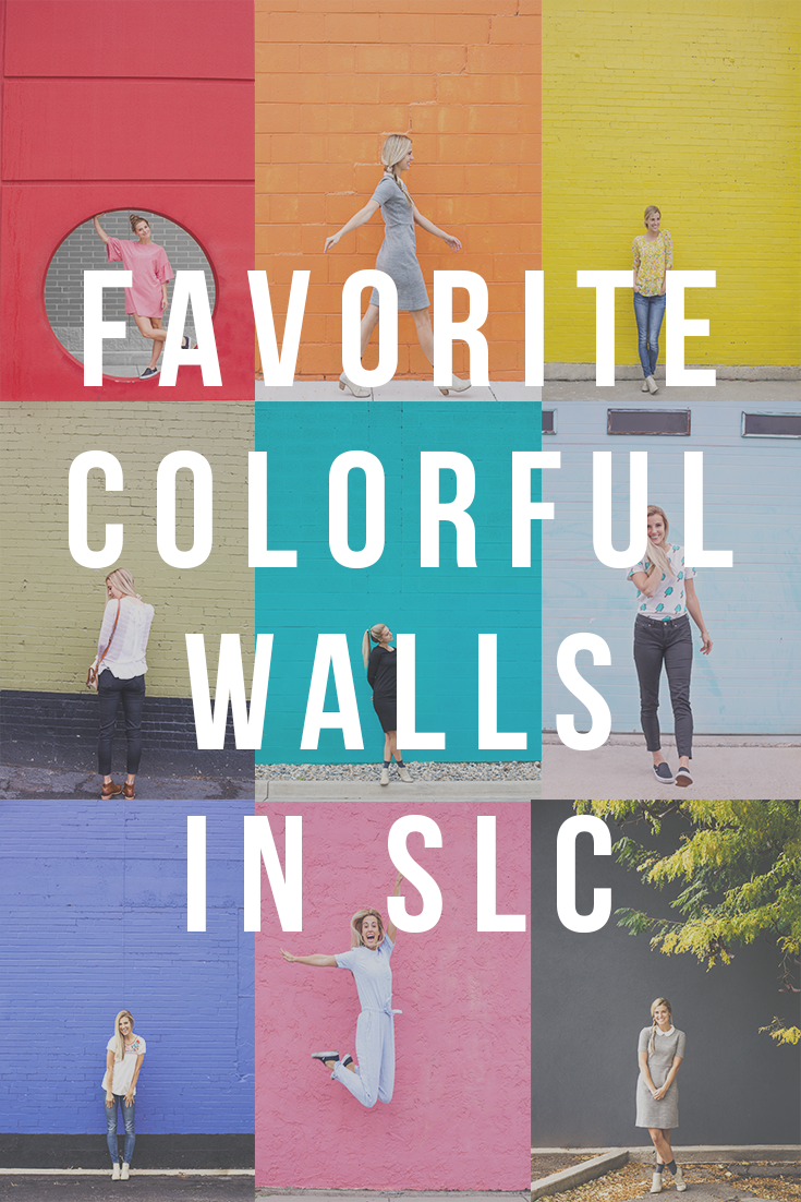 Willivia // Colored Wall in SLC