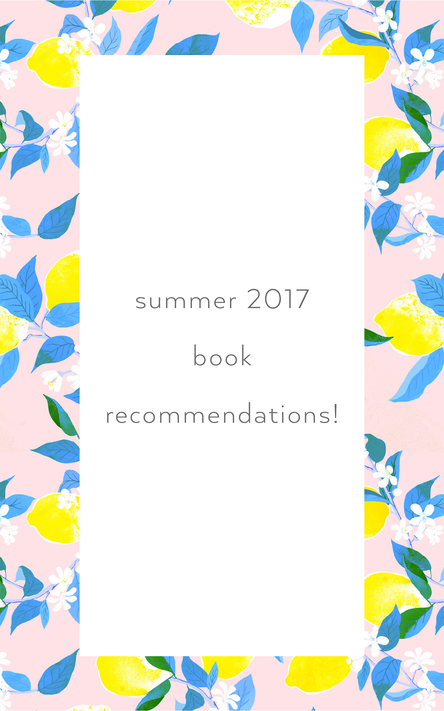 Willivia // Book Recommendations